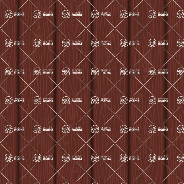 Seamless Pattern Designs Mega Bundle - Wood Pattern 5