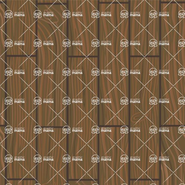 Seamless Pattern Designs Mega Bundle - Wood Pattern 7