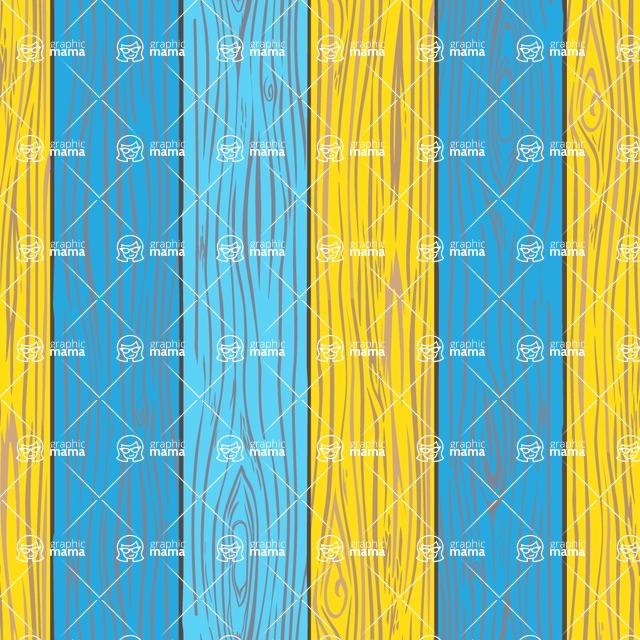 Seamless Pattern Designs Mega Bundle - Wood Pattern 16