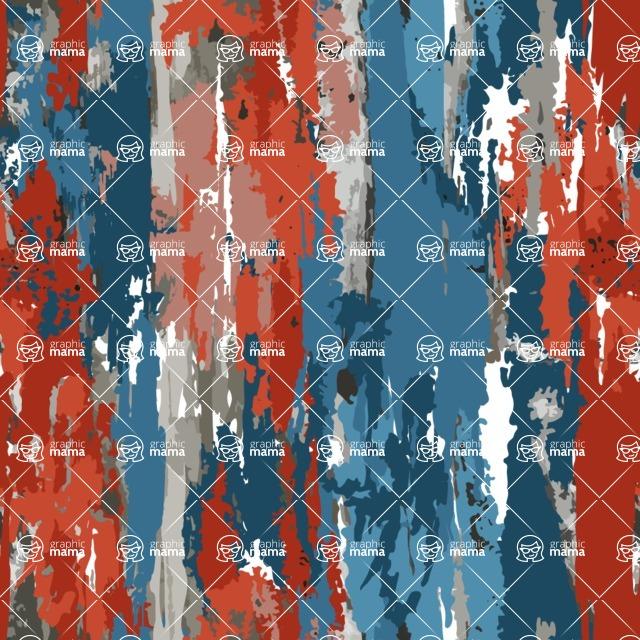 Seamless Pattern Designs Mega Bundle - Grunge Pattern 27