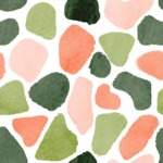 Seamless Pattern Designs Mega Bundle - Watercolor Pattern 16