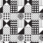 Seamless Pattern Designs Mega Bundle - Hand-drawn Pattern 15