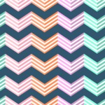 Seamless Pattern Designs Mega Bundle - Chevron Pattern 27