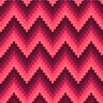 Seamless Pattern Designs Mega Bundle - Chevron Pattern 39