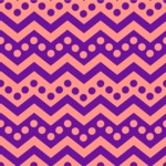 Seamless Pattern Designs Mega Bundle - Chevron Pattern 97