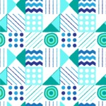 Seamless Pattern Designs Mega Bundle - Hand-drawn Pattern 39