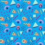 Seamless Pattern Designs Mega Bundle - Memphis Pattern 2