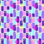 Seamless Pattern Designs Mega Bundle - Memphis Pattern 18