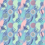Seamless Pattern Designs Mega Bundle - Memphis Pattern 19