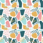 Seamless Pattern Designs Mega Bundle - Memphis Pattern 20