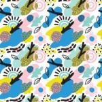 Seamless Pattern Designs Mega Bundle - Memphis Pattern 23