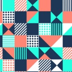 Seamless Pattern Designs Mega Bundle - Memphis Pattern 29