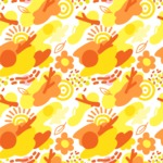 Seamless Pattern Designs Mega Bundle - Memphis Pattern 59