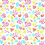 Seamless Pattern Designs Mega Bundle - Hand-drawn Pattern 48