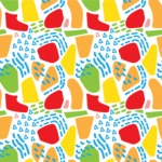 Seamless Pattern Designs Mega Bundle - Memphis Pattern 92