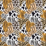 Seamless Pattern Designs Mega Bundle - Animal Pattern 10