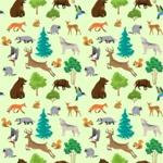 Seamless Pattern Designs Mega Bundle - Animal Pattern 34