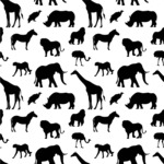 Seamless Pattern Designs Mega Bundle - Animal Pattern 42