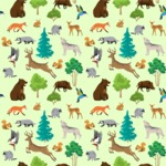 Seamless Pattern Designs Mega Bundle - Animal Pattern 82