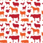 Seamless Pattern Designs Mega Bundle - Animal Pattern 84
