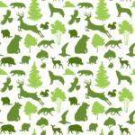 Seamless Pattern Designs Mega Bundle - Animal Pattern 141