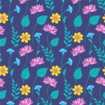 Seamless Pattern Designs Mega Bundle - Flower Pattern 3