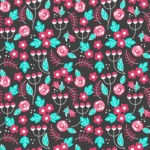 Seamless Pattern Designs Mega Bundle - Flower Pattern 6