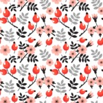 Seamless Pattern Designs Mega Bundle - Flower Pattern 7