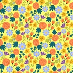 Seamless Pattern Designs Mega Bundle - Flower Pattern 11