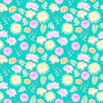 Seamless Pattern Designs Mega Bundle - Flower Pattern 12