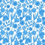 Seamless Pattern Designs Mega Bundle - Flower Pattern 22