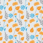 Seamless Pattern Designs Mega Bundle - Flower Pattern 27