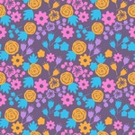 Seamless Pattern Designs Mega Bundle - Flower Pattern 35