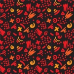 Seamless Pattern Designs Mega Bundle - Hand-drawn Pattern 72
