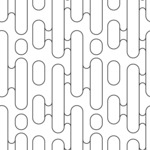 Seamless Pattern Designs Mega Bundle - Geometric Pattern 12