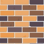 Seamless Pattern Designs Mega Bundle - Brick Pattern 8