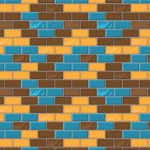 Seamless Pattern Designs Mega Bundle - Brick Pattern 24