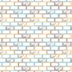 Seamless Pattern Designs Mega Bundle - Brick Pattern 36