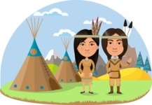 Couple Indians