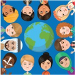 Nationalities Vectors - Mega Bundle - People of the World