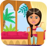 Nationalities Vectors - Mega Bundle - Indian girl dancer
