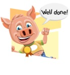 Paul the Little Piglet - Shape 4