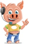 Paul the Little Piglet - Support