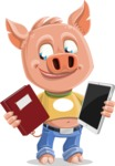 Paul the Little Piglet - Book and iPad