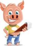 Paul the Little Piglet - Notepad 3
