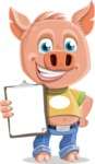 Paul the Little Piglet - Notepad 4