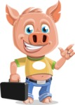 Paul the Little Piglet - Briefcase 1