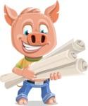 Paul the Little Piglet - Plans
