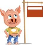 Paul the Little Piglet - Sign 9