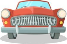 Vintage Volga Car